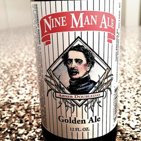 Обзор пива. Cooperstown Nine Man Ale.