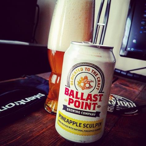 Обзор пива. Ballast Point Pineapple Sculpin.