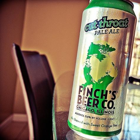 Обзор пива. Finch's Cut Throat.
