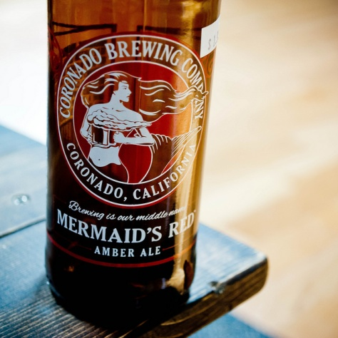 Обзор пива. Coronado Mermaid's Red Ale.