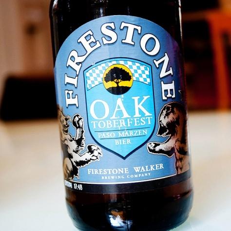 Обзор пива. Firestone Walker Oaktoberfest.