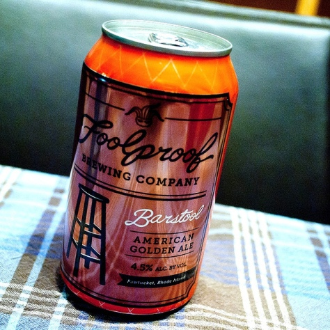 Обзор пива. Foolproof Barstool American Golden Ale.