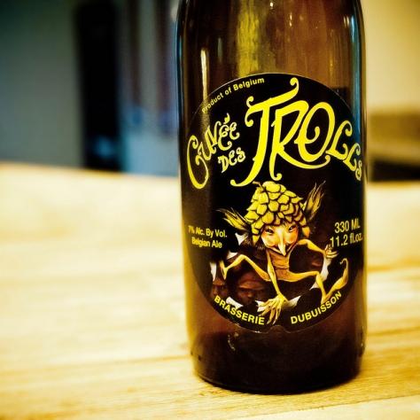 Обзор пива. Dubuisson Cuvée Des Trolls.