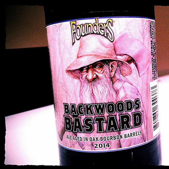 Обзор пива. Founders Backwoods Bastard.