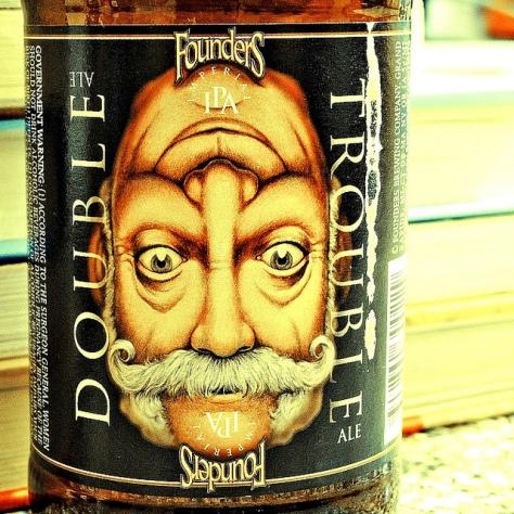 Обзор пива. Founders Double Trouble.