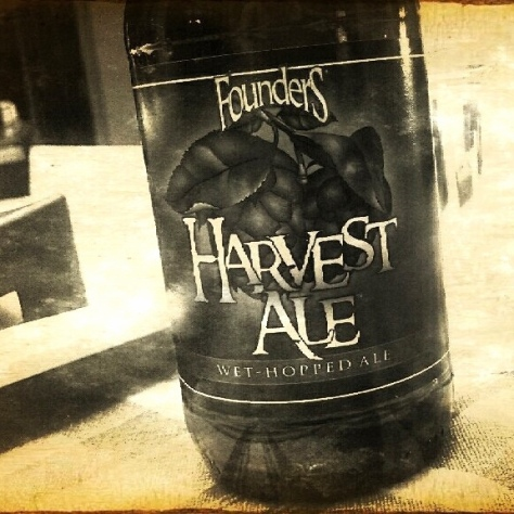 Обзор пива. Founders Harvest Ale.