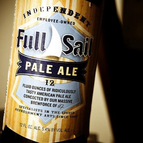 Обзор пива. Full Sail Pale Ale.