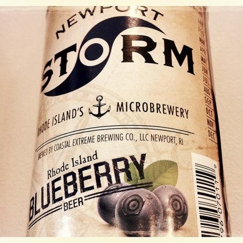 Coastal Extreme Newport Storm Rhode Island Blueberry. [Обзор пива].