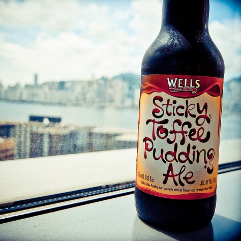 Обзор пива. Wells Sticky Toffee Pudding Ale.