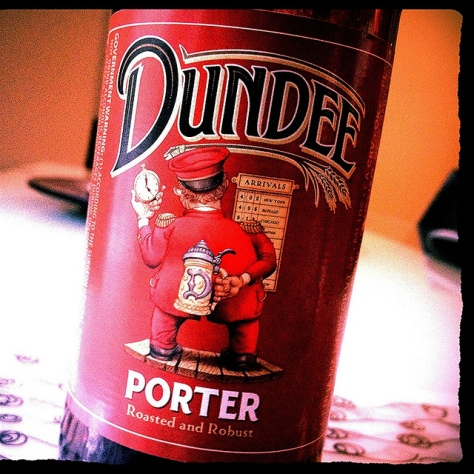 Обзор пива. Genesee Dundee Porter.