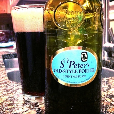 Обзор пива. St. Peter's Old-Style Porter.