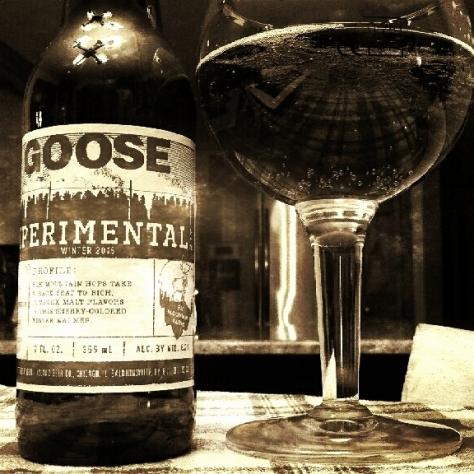 Обзор пива. Goose Island Experimental.