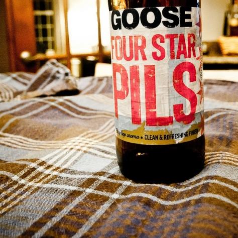 Обзор пива. Goose Island Four Star Pils.