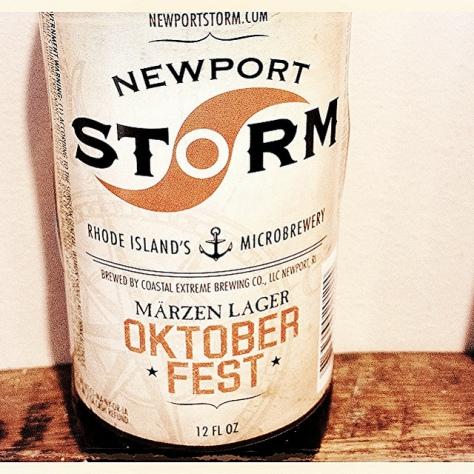 Обзор пива. Coastal Extreme Newport Storm Oktoberfest.