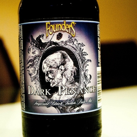 Обзор пива. Founders Dark Penance.