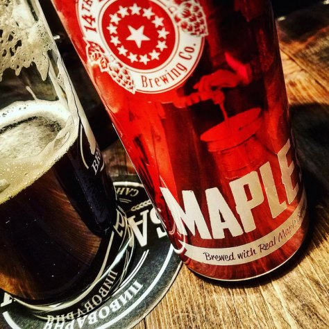 Обзор пива. 14th Star Maple Breakfast Stout.