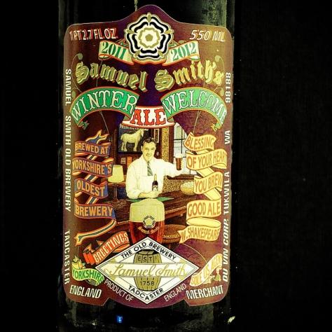 Обзор пива. Samuel Smith's Winter Welcome Ale.