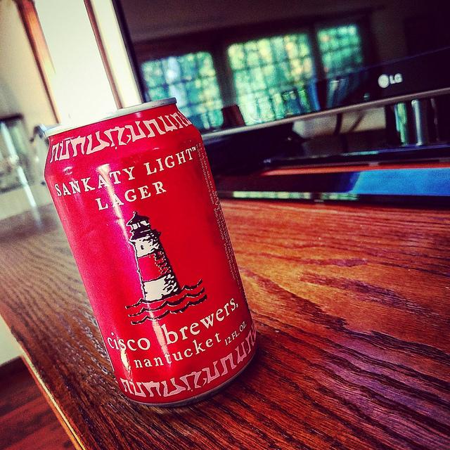Обзор пива. Cisco Sankaty Light.