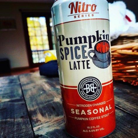 Обзор пива. Breckenridge Pumpkin Spice Latte.