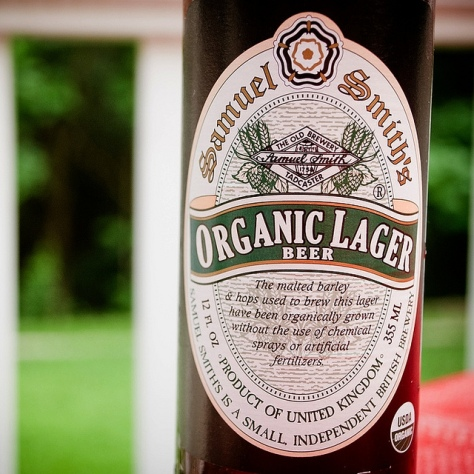 Обзор пива. Samuel Smith's Organic Lager.