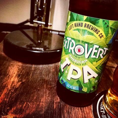 Обзор пива. Left Hand Extrovert IPA.