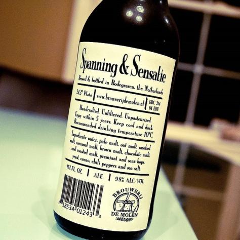 Обзор пива. De Molen Spanning & Sensatie.