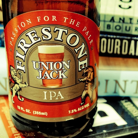 Обзор пива. Firestone Walker Union Jack IPA.