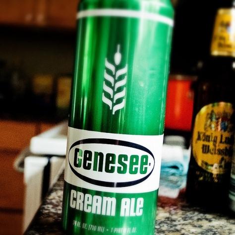 Обзор пива. Genesee Dundee Cream Ale.