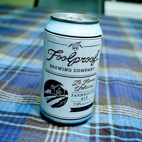 Обзор пива. Foolproof La Ferme Urbaine Farmhouse Ale.