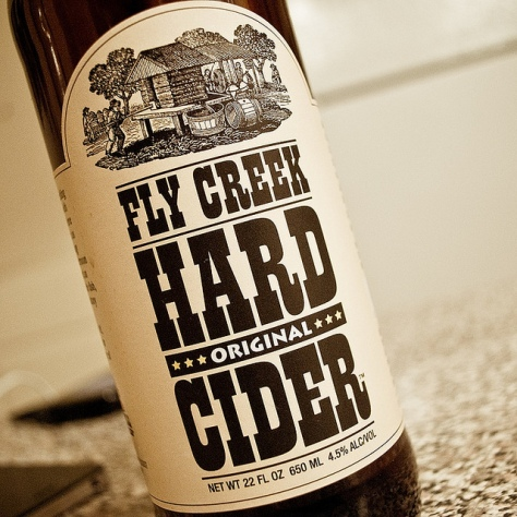 Обзор крепкого сидра. Fly Creek Original Hard Cider.