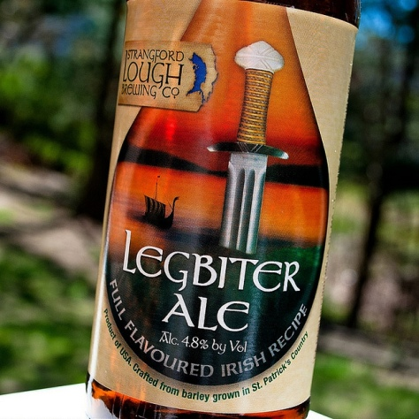 Обзор пива. Strangford Lough Legbiter.