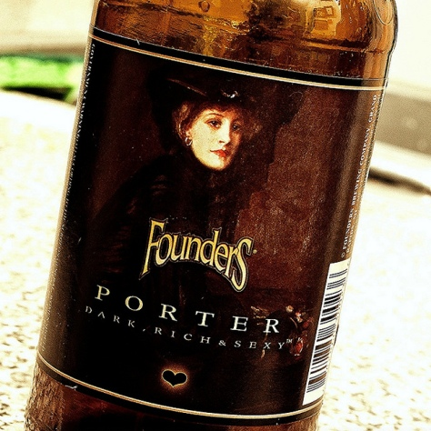 Обзор пива. Founders Porter.