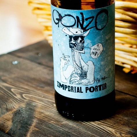 Обзор пива. Flying Dog Gonzo Imperial Porter.