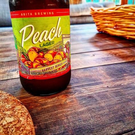 Обзор пива. Abita Peach Lager.