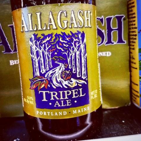 Обзор пива. Allagash Tripel Ale.