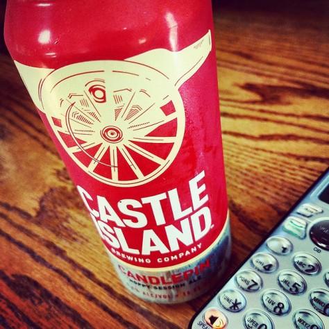 Обзор пива. Castle Island Candlepin.