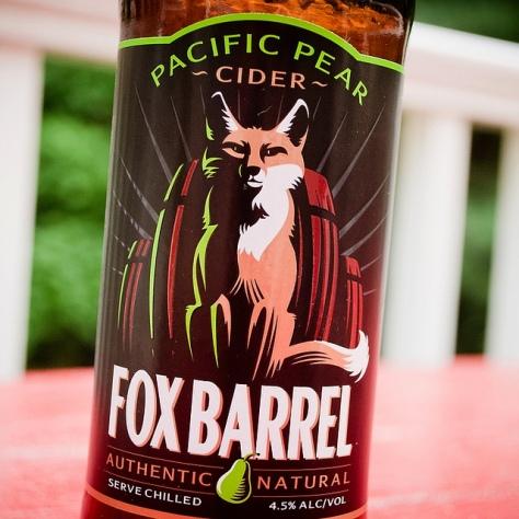 Обзор крепкого сидра. Fox Barrel Pear Cider.