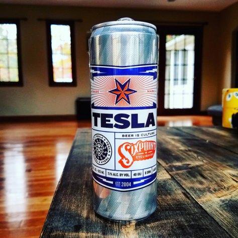 Обзор пива. Sixpoint Tesla.