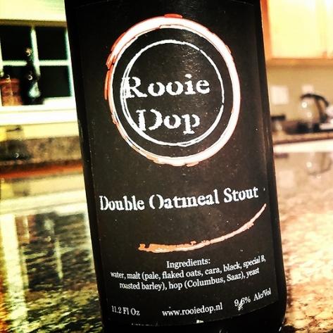 Обзор пива. Rooie Dop Double Oatmeal Stout.