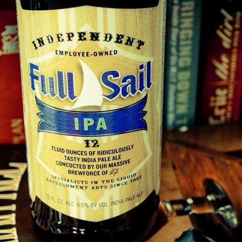 Обзор пива. Full Sail IPA.