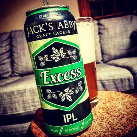 Обзор пива. Jack's Abby Excess IPL.