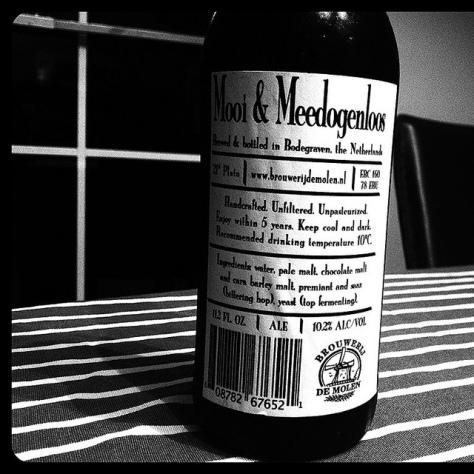Обзор пива. De Molen Mooi & Meedogenloos.