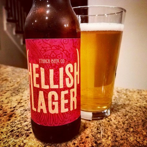 Обзор пива. Ithaca Hellish Lager.