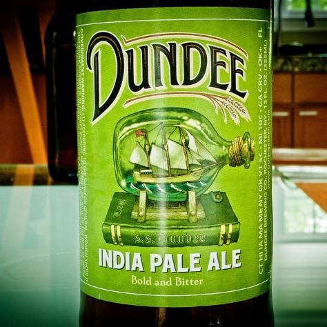 Обзор пива. Genesee Dundee India Pale Ale.