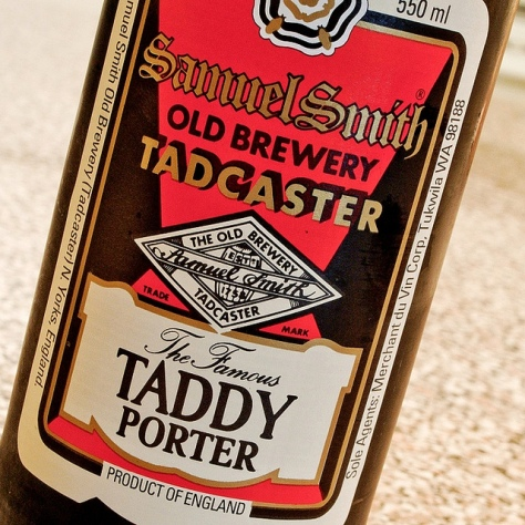 Обзор пива. Samuel Smith's The Famous Taddy Porter.