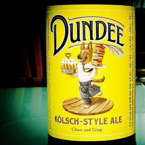 Обзор пива. Genesee Dundee Kolsch Style Ale.