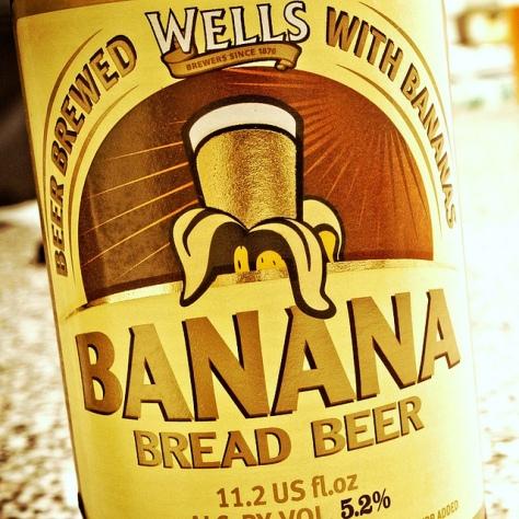 Обзор пива. Wells Banana Bread Beer.