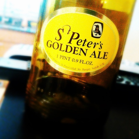 Обзор пива. St. Peter's Golden Ale.