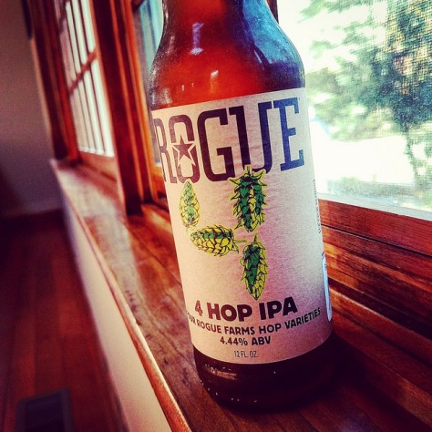 Обзор пива. Rogue Farms 4 Hop IPA.