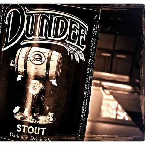 Обзор пива. Genesee Dundee Stout.